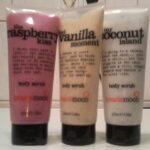 (EXKLUSIV) treaclemoon the raspberry kiss / that vanilla moment / my coconut island body scrub