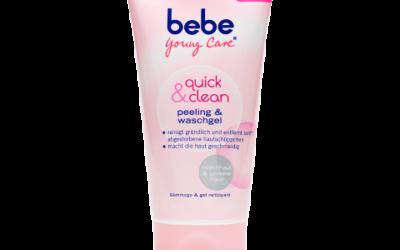 bebe Young Care quick & clean peeling & waschgel für Mischhaut und unreine Haut