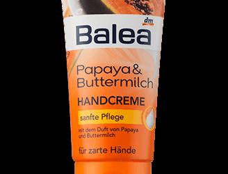 Balea Papaya & Buttermilch Handcreme
