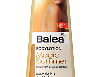 Balea Magic Summer Bodylotion mit Selbstbräuner-Effekt