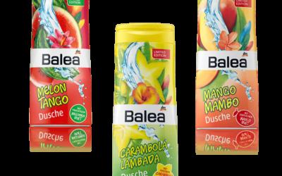 Balea Sommerduschen: Carambola Lambada, Mango Mambo & Melon Tango