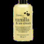 i ♥ cosmetics... Vanilla & Ice Cream bubble bath & shower créme