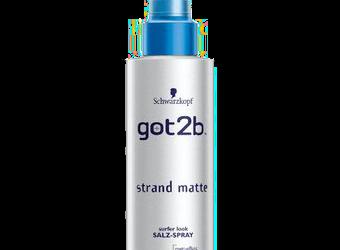 got2b strand matte surfer look SALZ-SPRAY