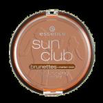 essence sun club brunettes matt bronzing powder