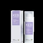 KEB Skincare oil control moisturising cream. und intense moisturising cream.
