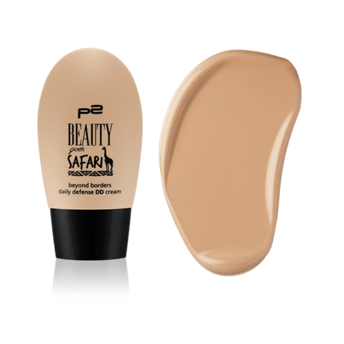 p2 Beyond Borders Daily Defense DD Cream | Beauty goes Safari LE