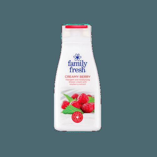 familyfreshcreamyberryshowergel
