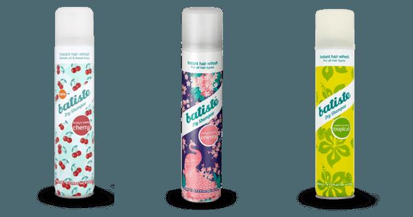 batiste Dry Shampoo Cherry, Oriental & Tropic