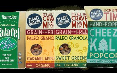 Unser Veganz-Testpaket mit flamous ORGANIC und PLANET ORGANIC