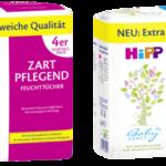 HiPP Babysanft Feuchttücher Zart Pflegend & Ultra Sensitiv