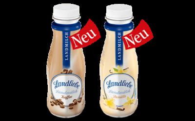 Landliebe Milchdrink Kaffee und Vanille