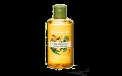 Yves Rocher Mango Coriander, Raspberry Peppermint und Coconut Bath & Shower Gel