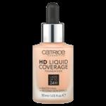 catrice cosmetics HD Liquid Coverage Foundation 020 Rose Beige