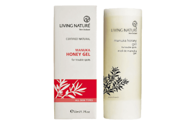 Living Nature Manuka Honey Gel