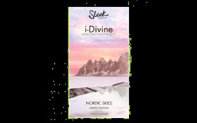 Sleek MakeUP i-Divine Mineral Based Eyeshadow Palette Nordic Skies