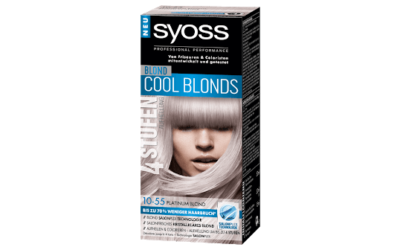 syoss Cool Blonds 10-55 Platinum Blond