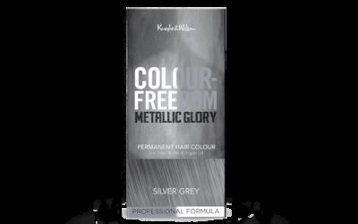 COLOUR FREEDOM Metallic Glory Silver Grey