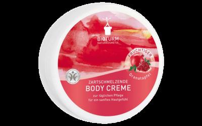 BIOTURM Zartschmelzende Body Creme Fruchtiger Granatapfel