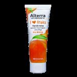 Alterra i ♥ fruits Handcreme Bio-Mango, Handmaske Bio-Erdbeere, Handpeeling Bio-Apfel & Hand- und Nagelcreme Bio-Himbeere