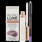 Makeup Revolution Retro Luxe Holographic Lip Kit Unicorn Dreams