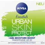 NIVEA Essentials Urban Skin Protect Tagespflege LSF20 & Urban Skin Detox Gel-Nachtpflege