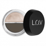 L.O.V. BROWlights Eyebrow Pomade & Highlighter 110 Graceful Brown
