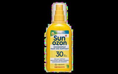 Sunozon Haar & Kopfhaut Spray LSF30