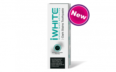 iWhite Instant Teeth Whitening Dark Stains Toothpaste