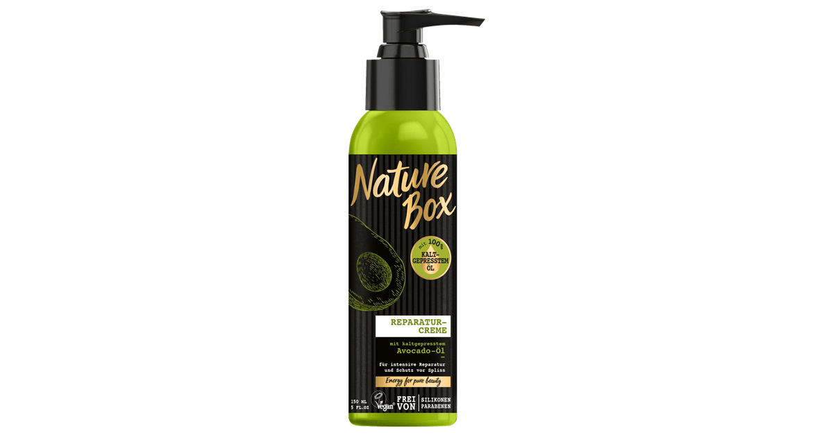 Nature Box Reperatur-Creme Avocado-Öl