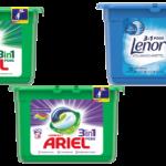 Ariel 3in1 Pods Compact Vollwaschmittel