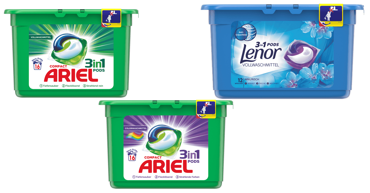 ariel lenor 3in1pods