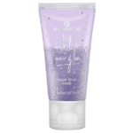 essence into the snow glow sugar face scrub