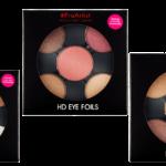 Freedom Makeup #ProArtist Eye Foils HD Burnt, HD Metallics 2, HD Matte Bare und HD Metallics 1
