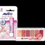 AVEO Lippenpflege Shiny Pearl & Terra Naturi Lip Palette Flower Garden