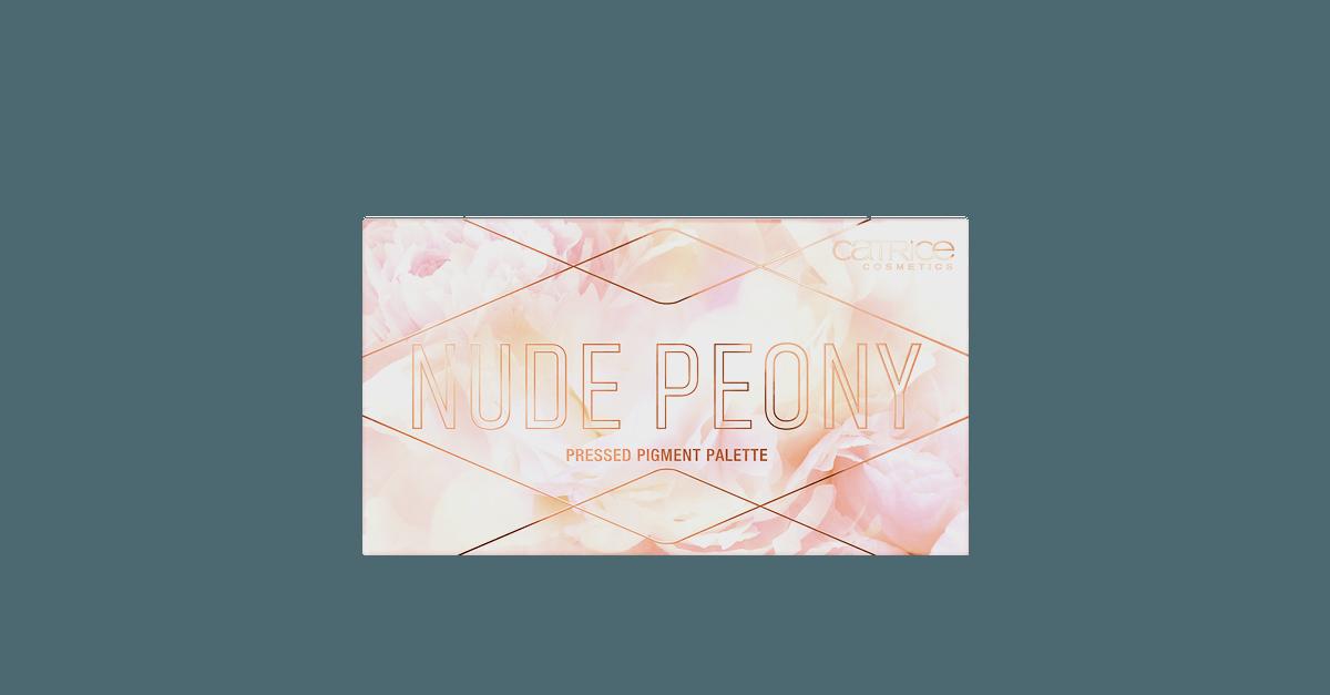 CATRICE Nude Peony Pressed Pigment Palette