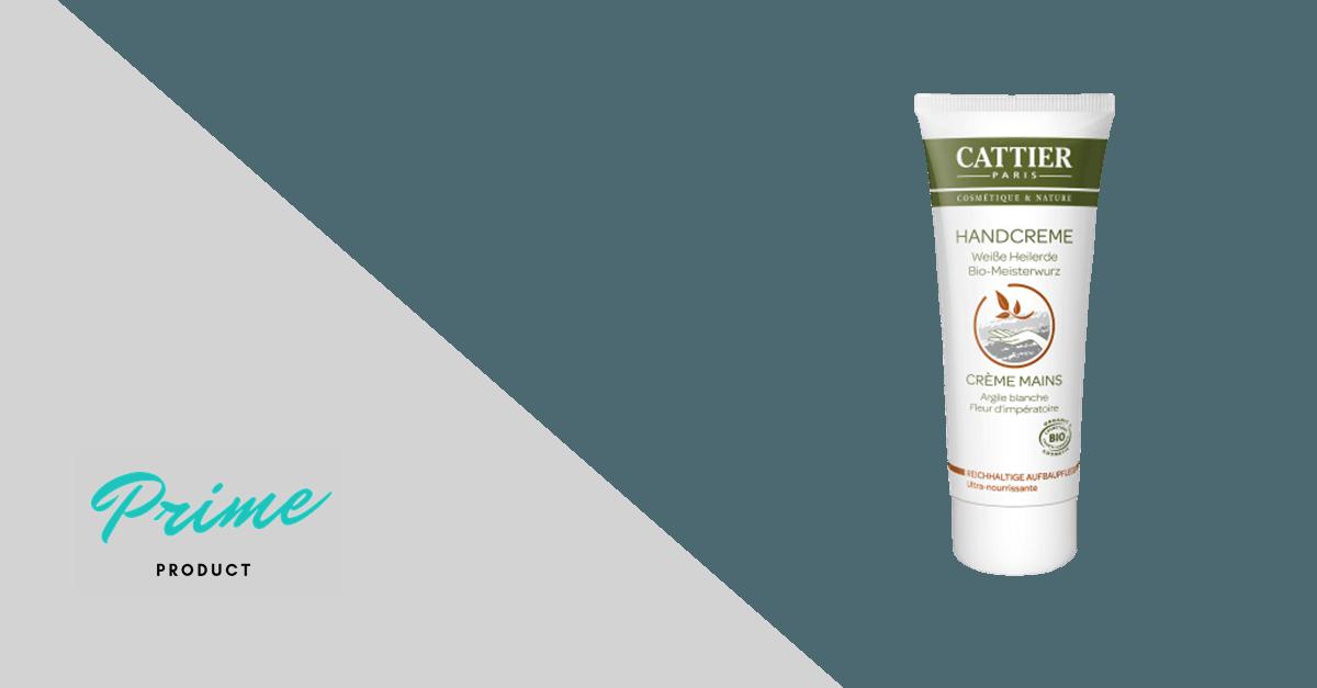 CATTIER Handcreme Weiße Heilerde & Bio-Meisterwurz