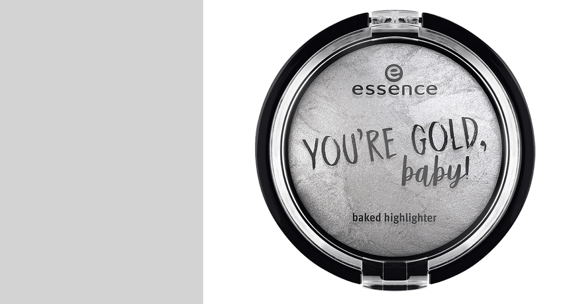 essence you're gold, baby! baked highlighter 02 my white gold!