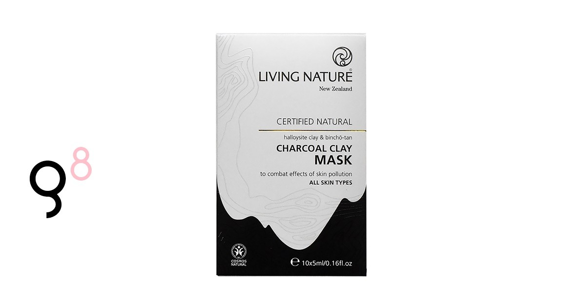 3x Living Nature Charcoal Clay Mask gewinnen
