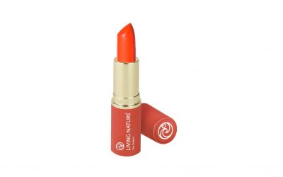 Living Nature Coral Lipstick //BEAUTY