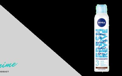 NIVEA Fresh Revive Trockenshampoo 3in1 Dunkle Haartöne