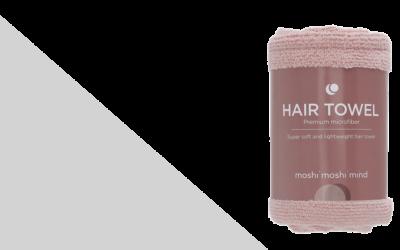 moshi moshi mind Hair Towel