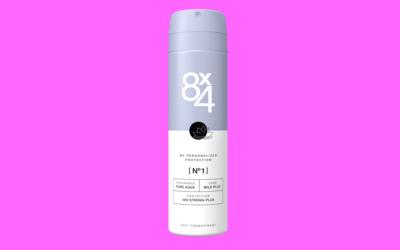 8×4 Deo Spray Antitranspirant No.1 Pure Aqua