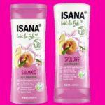 ISANA liebt die Erde Shampoo & Spülung Pfirisch