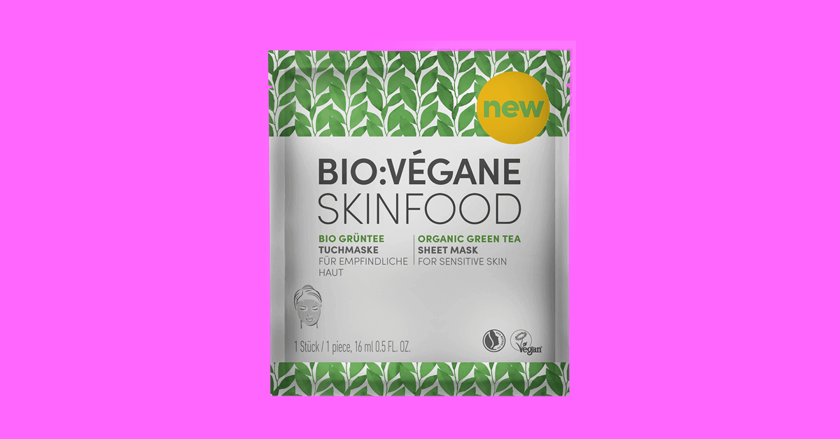 bioveganeorganicgreenteasheetmask