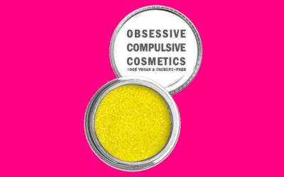 Obsessive Compulsive Cosmetics Loose Glitter Neon Yellow