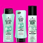 Schwarzkopf Gliss Kur Nutri-Balance Repair Shampoo, Spülung, Express-Repair Spülung