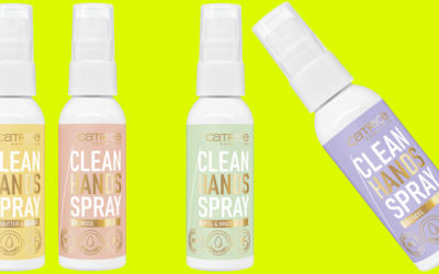 CATRICE Clean Hands Spray //BEAUTY