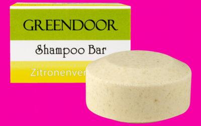 Greendoor Shampoo Bar Zitronenverbene