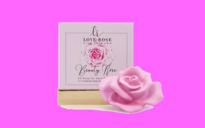 Love Rose Cosmetics Beauty Rose 2in1 peelende Maske