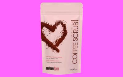 minetan Prep & Prime Exfoliating Coffee Scrub